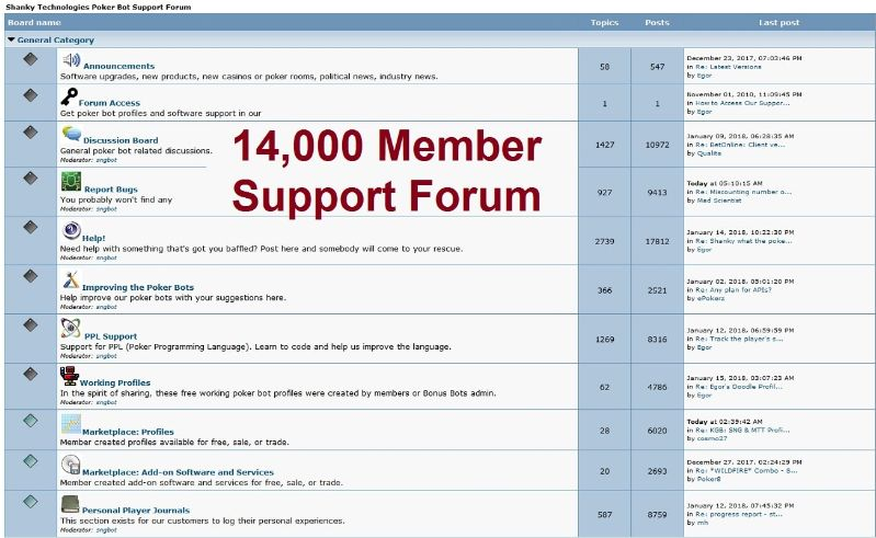 poker bot forum